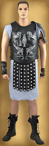 Todd's Costumes  - Gladiator Cuirass | Tiger Fight, $874.95 (http://www.toddscostumes.com/costumes/movie-costumes-gladiator/maximus-gladiator-costume-tigris/gladiator-cuirass-tiger-fight/)