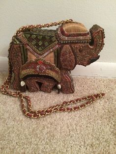 Mary Frances Elephant Shaped Evening Purse #MaryFrances #EveningBag Mary Frances Handbags, Only Sale, Store Coupons, Holiday Wear, Evening Bags, Finding Yourself, Elephant, Bling, Shapes