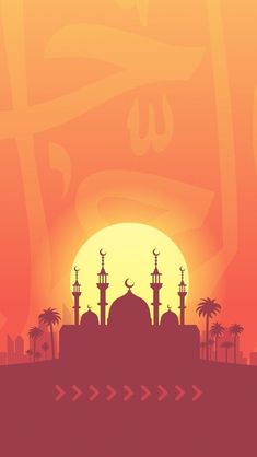 Ramadan Wallpaper Hd, Wallpaper Ramadhan, Islamic Wallpaper Hd, Cool Wallpaper, Cartoon Wallpaper, Eid Background, Background Design Vector, Background Pictures, Cute Backgrounds For Iphone