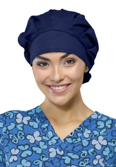 Code Happy Unisex Bouffant Hat with Certainty | Scrubs and Beyond