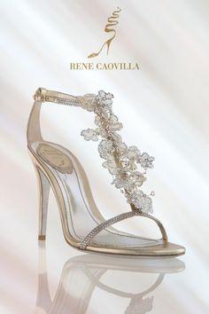 Rene Caovilla #delicate #ethereal