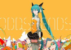 odds and ends miku | Ryo (Supercell) Ft Hatsune Miku - ODDS & ENDS single cover