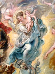 The Virgin as the Woman of The Apocalypse  ~ Rubens Getty Museum, Los Angeles