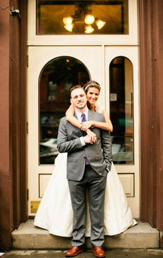 Lindsay Madden Photography - cute bride and groom photo