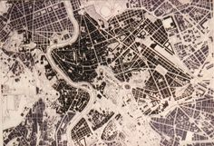 A figure/ground map of Rome