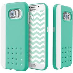 Caseology Samsung Galaxy S 6 Sleek Armor Threshold Series Case (turquoise Mint)