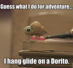 Marcel the Shell. If you haven't seen this video on YouTube look it up now.
