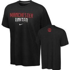 Manchester United Black Nike Quickstrike Legend T-Shirt Manchester United Merchandise, Manchester United Fans, Hoodies, Sweatshirts, Black Nikes, Cool Style, The Unit, Mens Tops, T Shirt