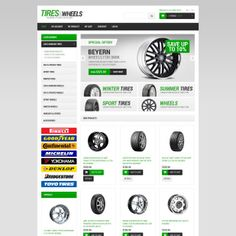 Wheels & Tires Responsive Magento Theme Small Screenshot