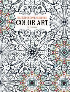 Kaleidoscope Wonders Adult Coloring Book