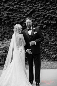 Stunning is the best word to describe this jaw-dropping wedding at Mason Sebika in Naperville, Illinois. I am swooning over Angie's open back Enzoani gown, and how breathtaking she looks in it. Tom does not take for granted the beautiful new wife he has, because you can tell how much he adores her while in…