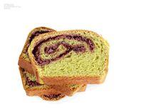 Azuki Green Tea Bread Recipe Details, Banana Bread, French Toast, Breakfast, Desserts, Recipes, Food, Japanese, Tea