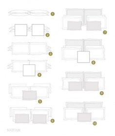 Pillow Style Inspiration | These Diagrams Are Everything You Need To Decorate Your Home