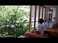 House as membrane: blends with garden & protects from street - YouTube