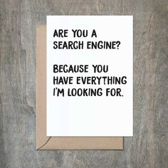 Search Engine Corny Pick Up Lines Card. Love Card. Funny Husband Card. Funny Boyfriend Card. Funny Girlfriend Card. Funny Wife Card. Funny Love Card. Funny Anniversary Card. Funny Husband Birthday.