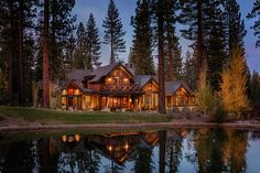 FOR SALE: Martis Camp, Truckee. While this charming 3,250-square-foot cabin sits back from a long bend in the road it's also close to the Park Pavilion, Sports Fields, Concert Lake and Family Barn, creating a rare blend of convenience and solitude. Appliances are attractive as well and include the likes of Sub-Zero, Wolf and Whirlpool. There's a fireplace in the master bedroom, a 48-bottle wine fridge and a kitchen island of wood, iron and granite with hammered copper sinks.