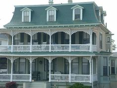 Beachfront Cape May, New Jersey, Second Empire Victorian