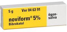 Köp Noviform ögonsalva 5% 5 g på apotea.se