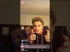 Brady Tutton Instagram Live (08.05.17) ABC Boy Band - YouTube