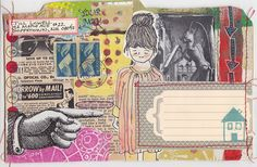 Snail mail (Collage stitched envelope IMG_0050 by MadameO, via Flickr)