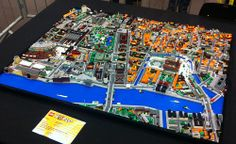 Microscale map of the city of Copenhagen