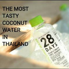 NEVER MORE THAN 28 DAYS 100% organic coconut water is purely from the best organic coconuts with the havesting period from 20 days to 28 days.