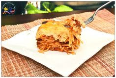 Pinay In Texas Cooking Corner: Baked Filipino-Style Spaghetti