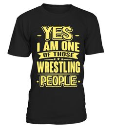 One of those Wrestling people