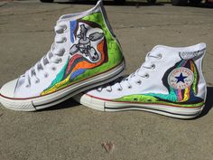 Custom Twenty One Pilots Self-Titled Converse by SteppedOut