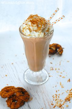 ... Shakes on Pinterest | Milkshake recipes, Peach milkshake and Shake