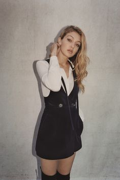 Gigi Hadid by Tyrone Lebon for Topshop, Fall/Winter 2015 Ad Campaign