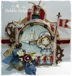 Debbie Dolphin...how adorable!!
