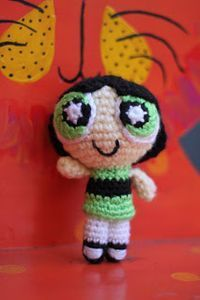 Buttercup from the Powerpuff Girls Amigurumi - Free Pattern