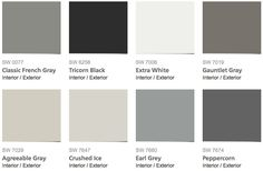2014 Color Choices