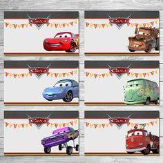 He encontrado este interesante anuncio de Etsy en https://www.etsy.com/es/listing/242524710/disney-cars-food-tents-chalkboard-cars