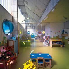 School Design | Educational Spaces | bright school