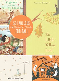 50 Fabulous Children's Books for Fall // Simple As That