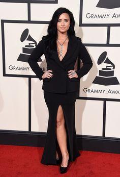 Demi Lovato aux Grammy Awards 2016