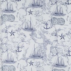 The world vintage map vintage maps wall accents and walls nautical map apparel fabric gumiabroncs Images