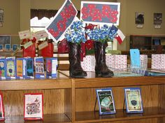 Can use for displaying Bluebonnet books