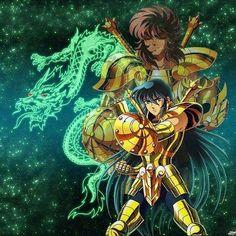 Shiryu de Dragon y Dohko de Libra