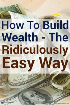 A Ridiculously Simple Way to Build Wealth – Finance tips, saving money, budgeting planner Energy Saving Tips, Money Saving Tips, Money Tips, Money Budget, Saving Ideas, Budgeting Finances, Budgeting Tips, Term Life Insurance, Savings Planner