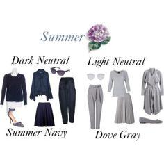 Summer Dark and Light Neutral