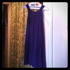Super soft short dress. Purple, soft, never worn. Maille Demoiselle Dresses Mini