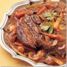 3 Generations of Southern Recipes: Sunday Dinner Pot Roast