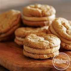 Peanut Butter Oatmeal Sandwich Cookies from Pillsbury® Baking