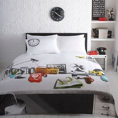 Ben de lisi home designer messy bed bedding set at debenhams ben de lisi desk bedding how cute is this gumiabroncs Images