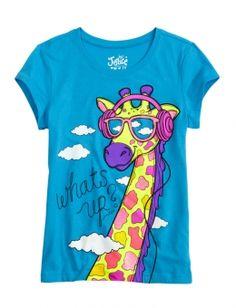 Music Giraffe Graphic Tee