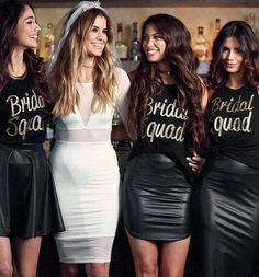 Bachelorette Party Outfit Ideas Pictures bachelorette party bride squad outfits in 2019 Bachelorette Party Outfit Ideas. Here is Bachelorette Party Outfit Ideas Pictures for you. Bachelorette Party Outfit Ideas bachelorette party outfit i. Bachelorette Outfits, Vegas Bachelorette, Bachlorette Party, Bachlorette Shirt Ideas, Bachelorette Party Pictures, Bachelorette Party Checklist, Bride Squad, Before Wedding, Maid Of Honor