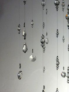 Crystal Chandelier Mobile Hanging Crystal by MobileSuncatchers